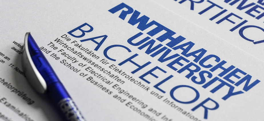 Application for Admission to Bachelor's courses - beginning Summer Semester 2012