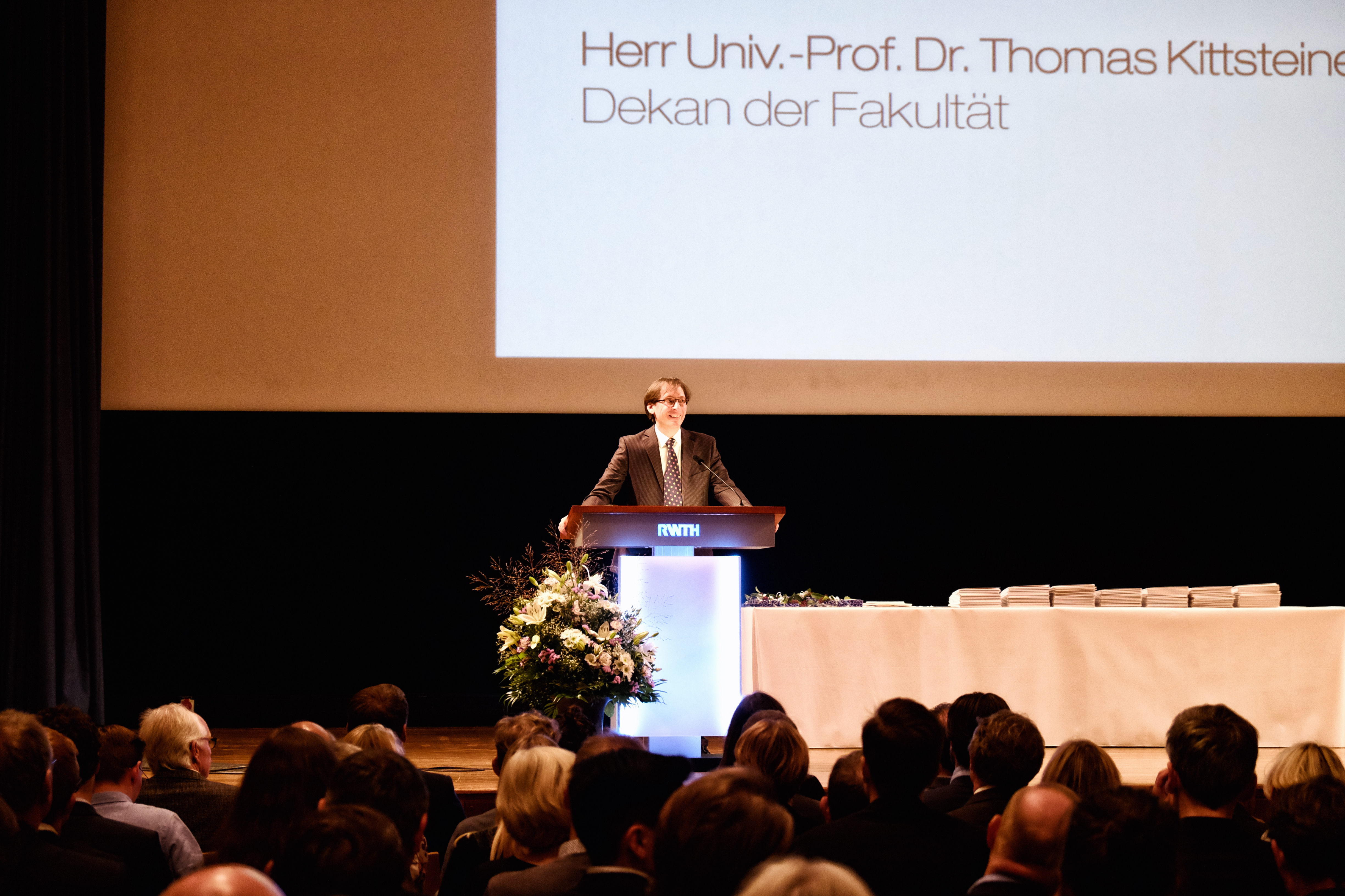 Prof. Thomas Kittsteiner, Dean of the School