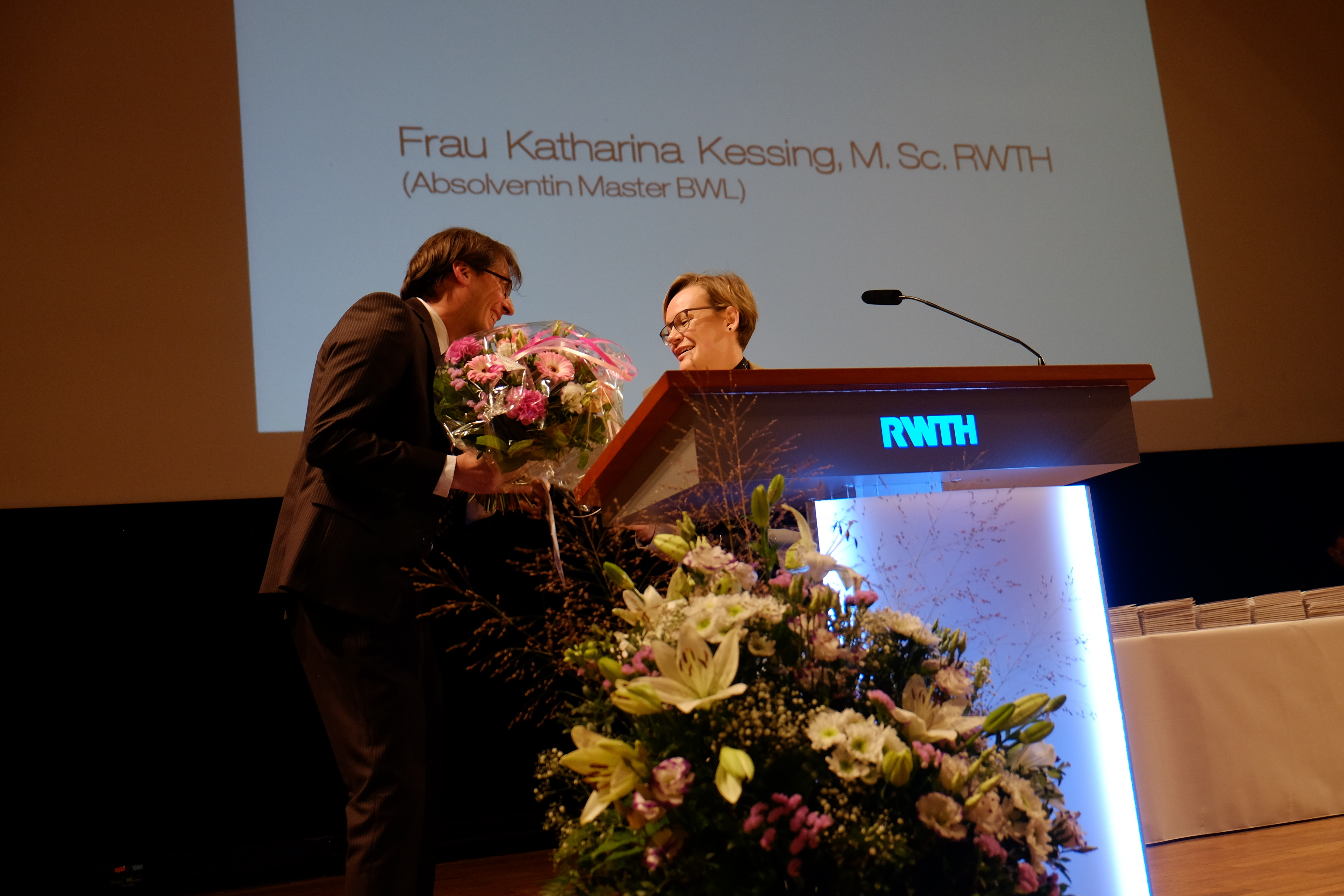 A Bouquet for Ms. Katharina Kessing