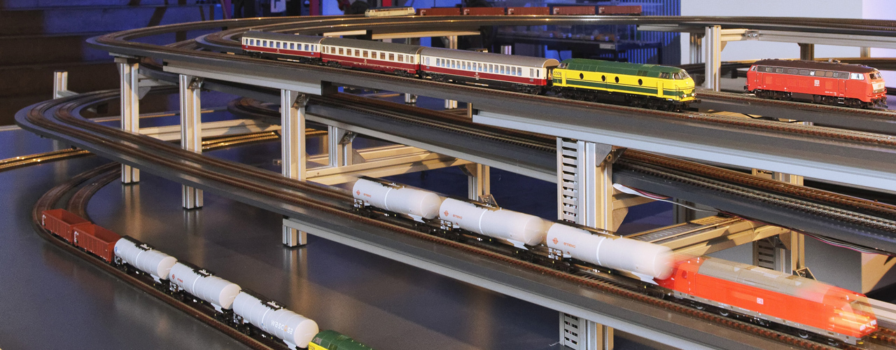 Small-scale model railway